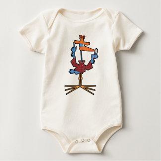 Sherlock Stork Baby Bodysuit