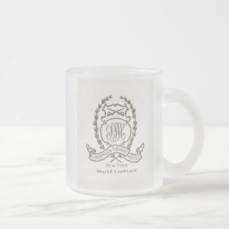 Sherman Frosted Glass Coffee Mug