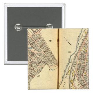 Sherman Park, New York 15 Cm Square Badge