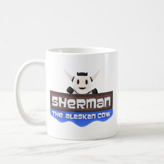 Sherman the Alaskan Cow Logo Coffee Mug