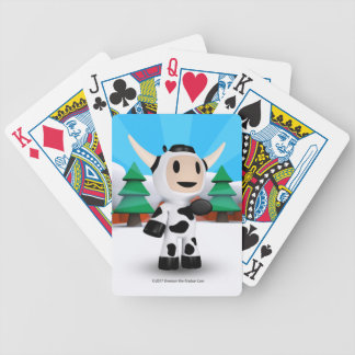 Sherman the Alaskan Cow Playing Cards