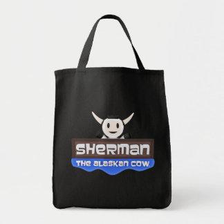 Sherman the Alaskan Cow Tote Bag
