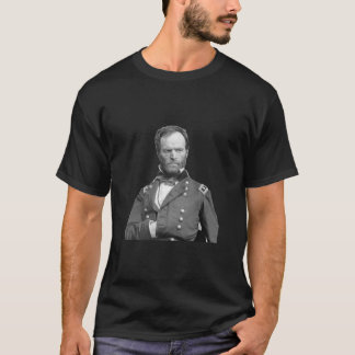 "Sherman ""War is Cruelty"" - black T-Shirt"
