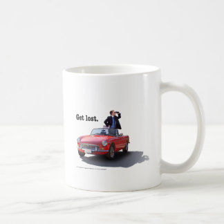 "Sherman's Way ""Get Lost"" Mug"
