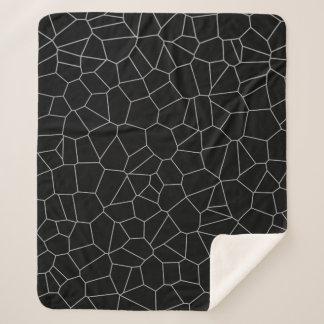 Sherpa Blankets (Black spider-web pattern)