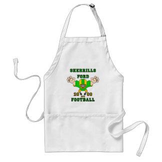 sherrills ford football design 1 standard apron