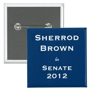 Sherrod Brown for Senate Button