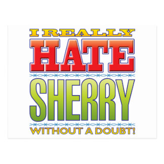 Sherry Hate Postcards