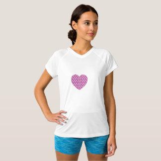 SheRuns.com Pink Heart Running Club T-Shirt