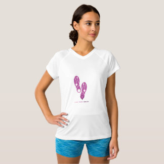 SheRuns.com Pink Shoes Running Club T-Shirt