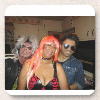 Sheryl and Geo Halloween coaster