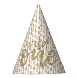 She's A Wild One Boho Style Birthday Party Hat