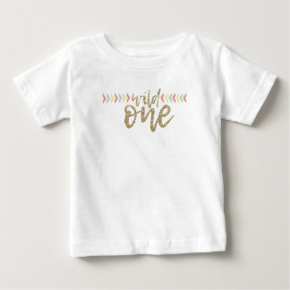 She's A Wild One First Birthday T Shirt