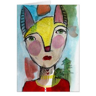 She's Foxy Card