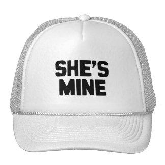 SHE'S MINE CAP