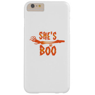 She's My Boo Halloween Love Couple Married Barely There iPhone 6 Plus Case