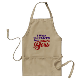 She's the BOSS-3 Standard Apron