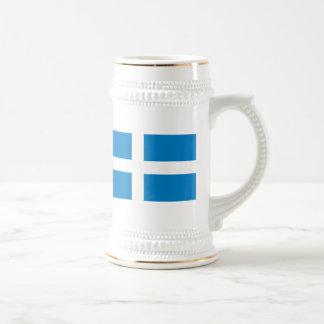 Shetland Flag Beer Stein