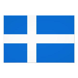 Shetland Flag Photo Art