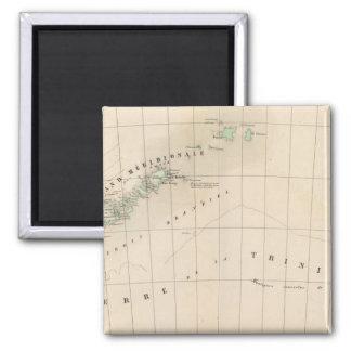 Shetland Islands 43 Square Magnet