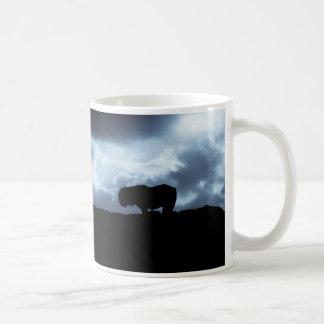 Shetland pony moods mug