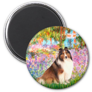 Shetland Sheepdog 7 - Garden Magnet