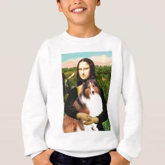 Shetland Sheepdog 7b - Mona Lisa Sweatshirt