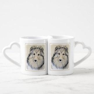 Shetland Sheepdog Coffee Mug Set