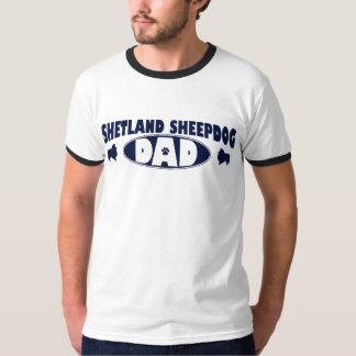 Shetland Sheepdog Dad T-Shirt