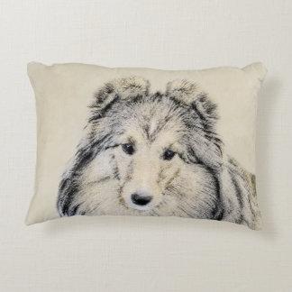 Shetland Sheepdog Decorative Cushion