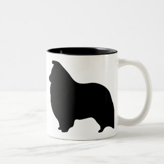 Shetland Sheepdog Gear Two-Tone Coffee Mug