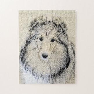 Shetland Sheepdog Jigsaw Puzzle