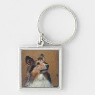 Shetland Sheepdog Key Ring