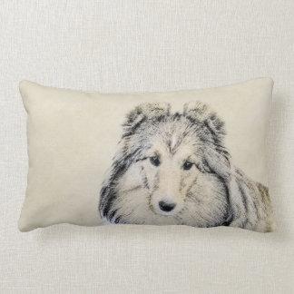 Shetland Sheepdog Lumbar Cushion
