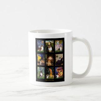Shetland Sheepdog Masterpiece Composite Basic White Mug