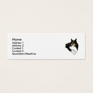 Shetland Sheepdog  Mini Business Card