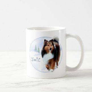 Shetland Sheepdog Noel Coffee Mug