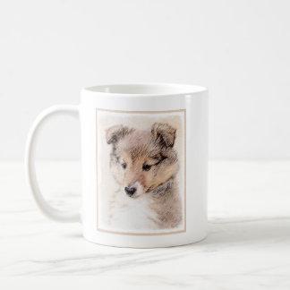 Shetland Sheepdog Puppy Coffee Mug