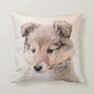 Shetland Sheepdog Puppy Cushion