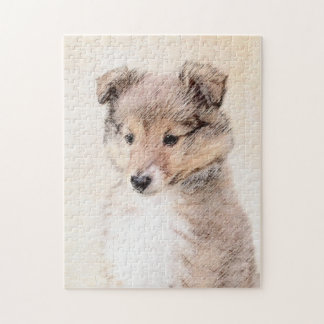 Shetland Sheepdog Puppy Jigsaw Puzzle