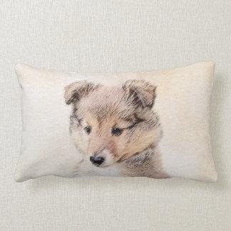 Shetland Sheepdog Puppy Lumbar Cushion