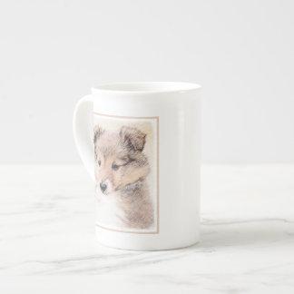 Shetland Sheepdog Puppy Tea Cup