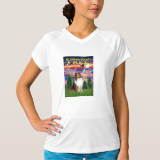 Shetland Sheepdog (sable and white) T-Shirt
