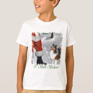Shetland Sheepdog Sheltie Christmas Gifts T-Shirt