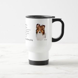 Shetland Sheepdog Sheltie Gifts Travel Mug