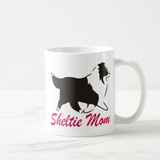 Shetland Sheepdog Sheltie Mom Coffee Mug