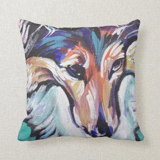 Shetland Sheepdog Sheltie Pop Art Pillow