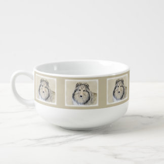 Shetland Sheepdog Soup Mug