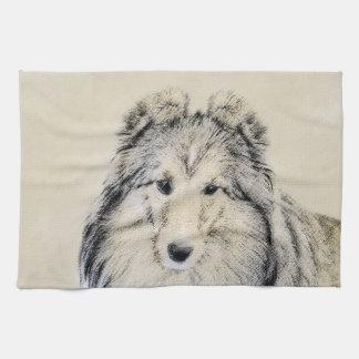 Shetland Sheepdog Tea Towel
