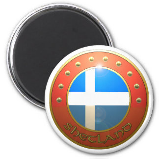 Shetland shield magnet